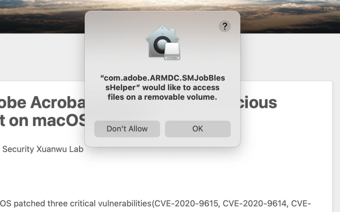 Volnurabilities in Adobe